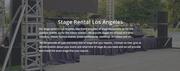 Los Angeles Stage Rental Prices,  Stage Rental Los Angeles